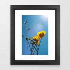 {build me up buttercup} Framed Art Print
