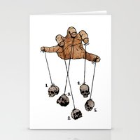 The Five Dancing Skulls … Stationery Cards