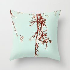 Delicate like breeze Throw Pillow