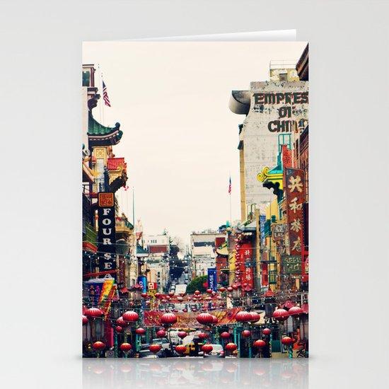 San Francisco China Town Stationery Card