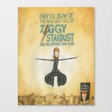 Ziggy Stardust - Book 2 - Bowie Canvas Print