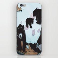 Walking Bears No. 2 iPhone & iPod Skin