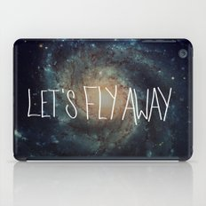 Let's Fly Away (come on, darling) iPad Case