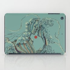 Kissing The Wave iPad Case