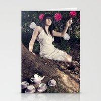 Alice In Memoriam Stationery Cards