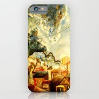 iPhone & iPod Case featuring Birds on a Wire  by Leanna Rosengren
