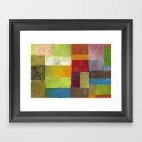 Abstract Color Study LV Framed Art Print