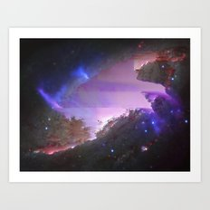 NGC 4258 (also known as M106) Art Print