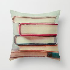 Books Love Throw Pillow