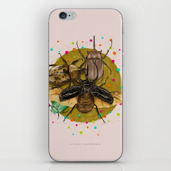 Insect Universe iPhone & iPod Skin
