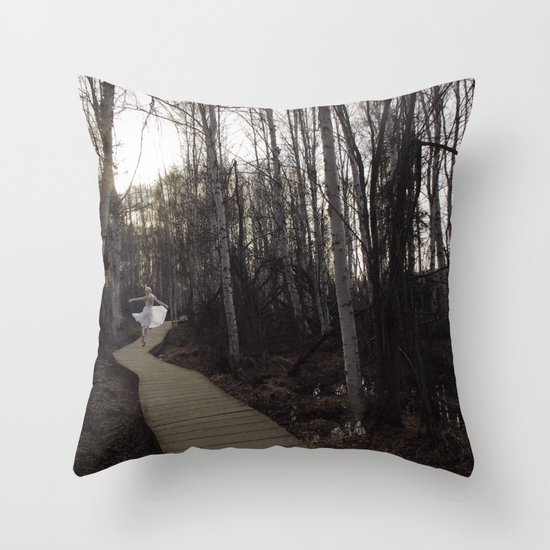 The Jasmine scent of a remembered dream Throw Pillow