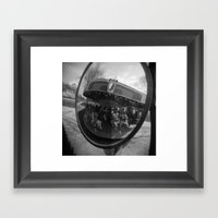 Merry Framed Art Print