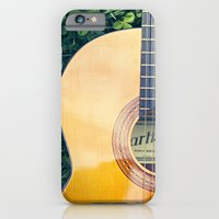 iPhone & iPod Case featuring Artista Guitar by Kimberly Blok