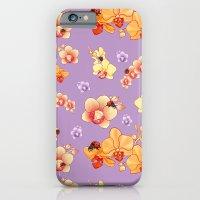 Orchids & Ladybirds iPhone 6 Slim Case