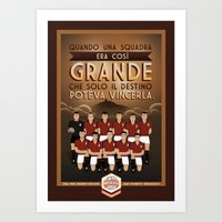 Poster Nostalgica - Grande Torino Art Print