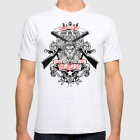 Stop Your Lion Mens Fitted Tee Ash Grey SMALL