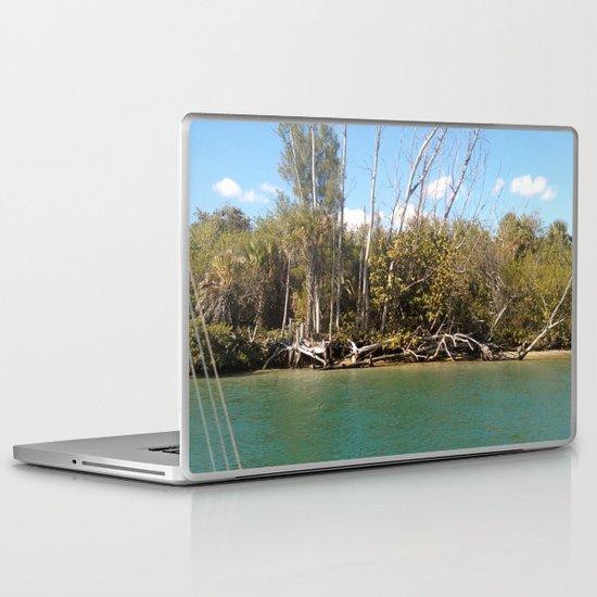 water woods Laptop & iPad Skin