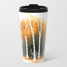 Autumn Wolf Travel Mug