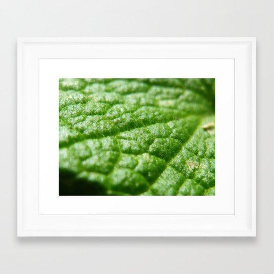 super green Framed Art Print