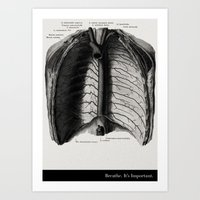 Breathe. A PSA For Stres… Art Print