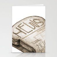 Info Toaster Stationery Cards