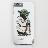 iPhone & iPod Case featuring Retro Yoda by InvaderDig