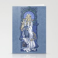 Galadriel Nouveau Stationery Cards