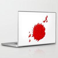 japan Laptop & iPad Skins featuring japan by Sophie Rousseau