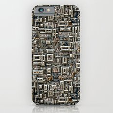 Abstract Metallic Structure iPhone 6 Slim Case