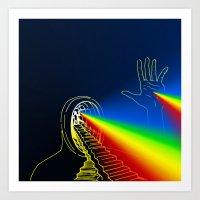 The Left Hand Of Darknes… Art Print