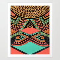 PeruNative Art Print