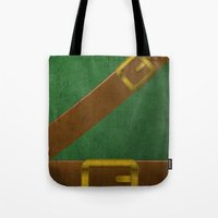 Video Game Poster: Adventurer Tote Bag