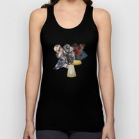 Everything we love is slowly becoming fiction Unisex Tank Top