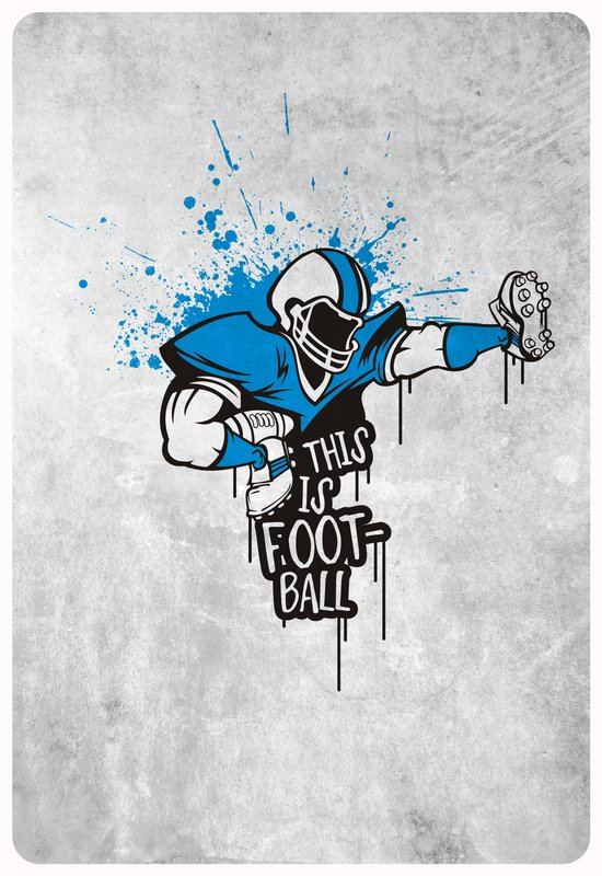 This is FOOTball Art Print