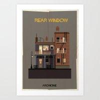 Rear Window   Directed B… Art Print