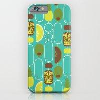 iPhone & iPod Case featuring Tiki Weekend by AllisonBeilke