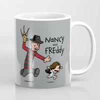 Nancy and Freddy Mug