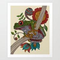 Phileus Frog Art Print