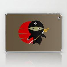 Ninja Star - Dark version Laptop & iPad Skin