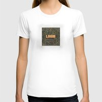 Loom Knox Womens Fitted Tee White SMALL