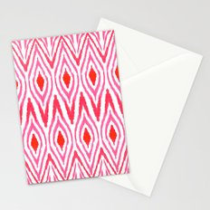 Ikat Watermelon Stationery Cards