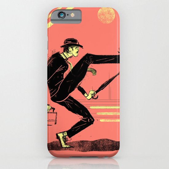 Silly Walk iPhone & iPod Case