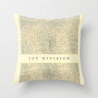 joy division Throw Pillow