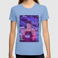 BREAKING BAD - Some Kind… Womens Fitted Tee Tri-Blue SMALL