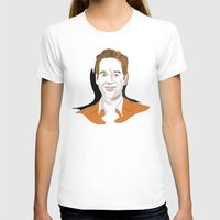 Paul Rudd Womens Fitted Tee White SMALL
