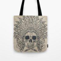 The Dead Chief Tote Bag