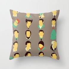 Jims Throw Pillow
