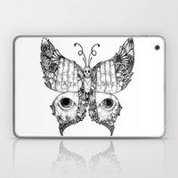 hate love butterfly Laptop & iPad Skin
