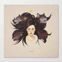 Los Lobos.  Canvas Print