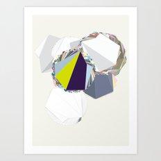 ‡ R ‡ Art Print